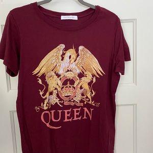 Daydreamer Queen graphic tee shirt size medium